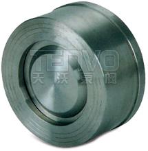 H71H型升降式对夹式止回阀实物图