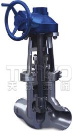 J61Y高温高压电站焊接截止阀
