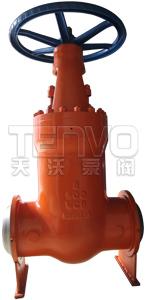 高温高压焊接闸阀实物图