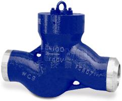 H61Y电站焊接式止回阀实物图