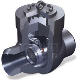 高温高压电站焊接式止回阀