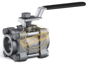 卡套管和公称管承插焊接球阀