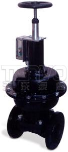 EG6K41J英标(常开型)气动隔膜阀实物图