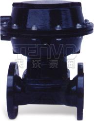 EG641W、EG641J英标(无带手操往复型)气动隔膜阀实物图