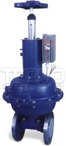 EG641J英标(带手动往复型)气动隔膜阀实物图