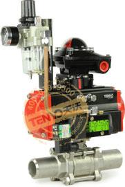 Q661F气动焊接球阀