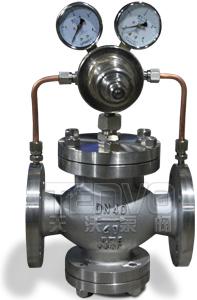 YK43F气体减压阀实物图