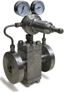 YK43F锻钢阀体气体减压阀实物图
