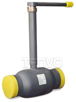 MQ61F-25/40埋地全焊接球阀实物图