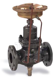 V130/131自力式流量调节阀实物图