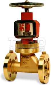 Jy41W型小口径氧气专用截止阀实物图