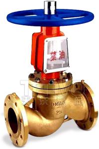 Jy41W型氧气专用截止阀实物图