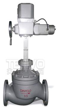 ZAZM电动套筒调节阀实物图