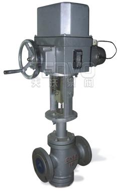 ZAZN电动直通双座调节阀实物图