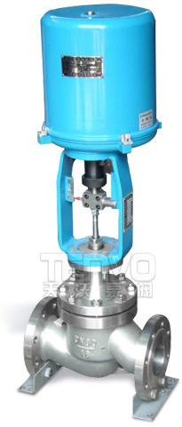 配3810电子式电动套筒调节阀实物图