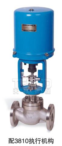 配3810电动执行器电子式电动调节阀实物图