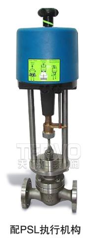 配PSL电动执行器电子式电动调节阀实物图