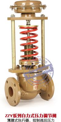 ZZYP薄膜式阀后型自力式压力调节阀