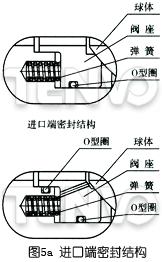 进口端密封结构